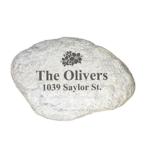 GiftsForYouNow Family Address Personalized Garden Stone for sale  Delivered anywhere in USA