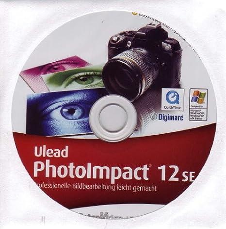 ULEAD PhotoImpact 12 SE PHOTO IMPACT OEM Prof. Bildbearbeitung