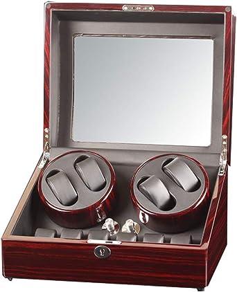 Premium Caja Giratoria para Relojes Automatico, Compacto Espacio con Motor japonés, Capacidad:10 Relojes (Color : A): Amazon.es: Relojes