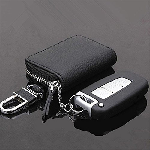 8402d21cdfaa Interior Decoration Keychain Car Key Wallet Key Holder Organizer Keychain  Zipper Key Case Bag Pouch Purse Zip, Card Holder, Pure Color, Coin Purse,  ...