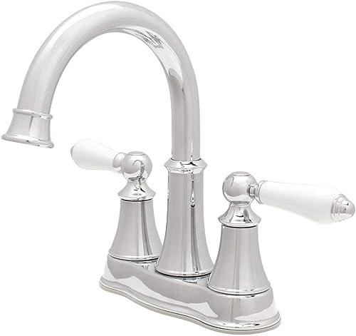 Price Pfister F-048-COPC Courant 4 Centerset Bathroom Faucet, Chrome