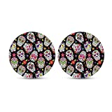 """chaqlin Suger Skull Drink Coasters 2.8"""" Absorbent"""