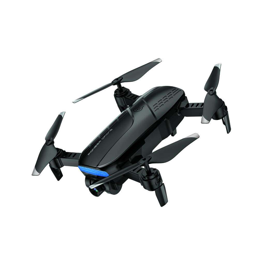 MOZATE LH-X41F 2.4Ghz 4CH Attitude Hold WiFi 720P Optical Flow Dual Camera RC Quadcopter Drone (Black) by MOZATE (Image #1)