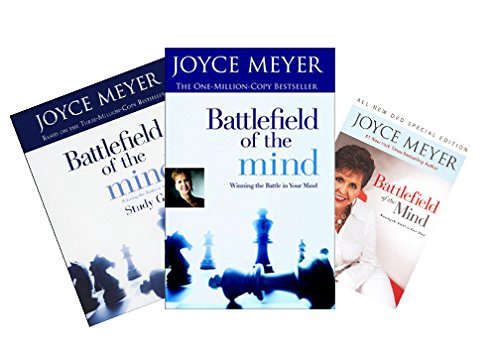 Joyce Meyer - Battlefield of the Mind FULL SET (Book + DVD + Study Guide) -  FaithWords