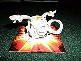 BAKUGAN SEASON 3 NEW LOOSE HAOS GREY BAKUTREMOR QUAKE DRAGONOID WITH UNUSED DNA CODES 960G