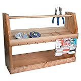 Ikee Design Wooden Jewelry Bead Tool Organizer