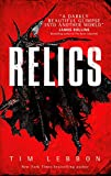 Book cover from Relics by Tim Lebbon