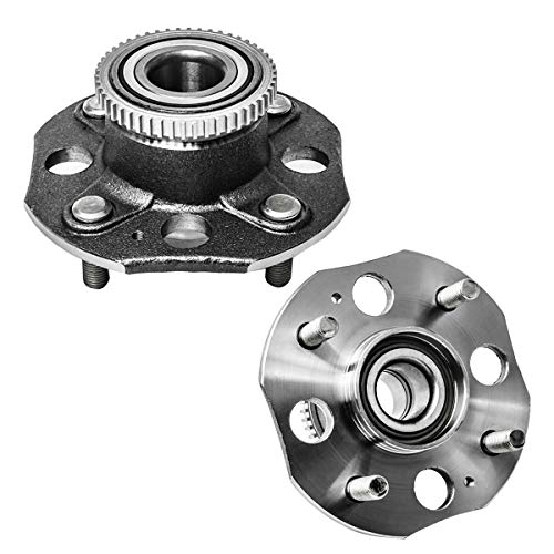 Rear Wheel Hub and Bearing Assembly Left or Right Compatible 1998-2002 Honda Accord AUQDD 512178 x2 (Pair) [ L4 2.3L Models 5 Lug ]