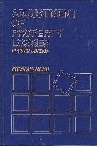 Adjustment of Property Losses