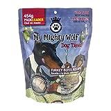 Waggers MMWT40 My Mighty Wolf Dog Treats Turkey Bliss Recipe 454g