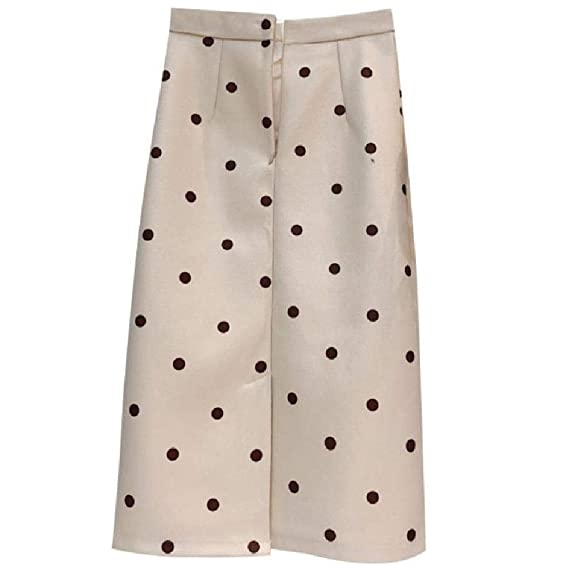 NObrand Faldas de Mujer de Lana Falda de Cintura Alta con ...
