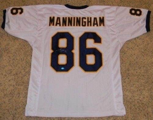 Autographed-Mario-Manningham-Jersey-Michigan-Wolverines-86-White-Coa-Autographed-College-Jerseys