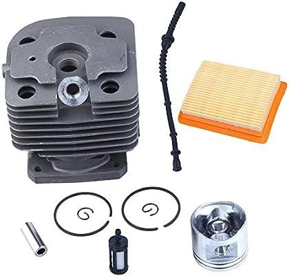 HIPA 40 mm Kit de pistón de cilindro Filtro de aire y gasolina ...