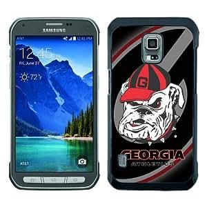 Popular Samsung Galaxy S5 Active Case ,Southeastern Conference SEC Football Georgia Bulldogs 3 black Samsung Galaxy S5 Active Cover Beautiful And Durable Designed Case