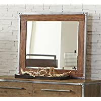 Coaster 203804 Home Furnishings Mirror, Weathered Acacia