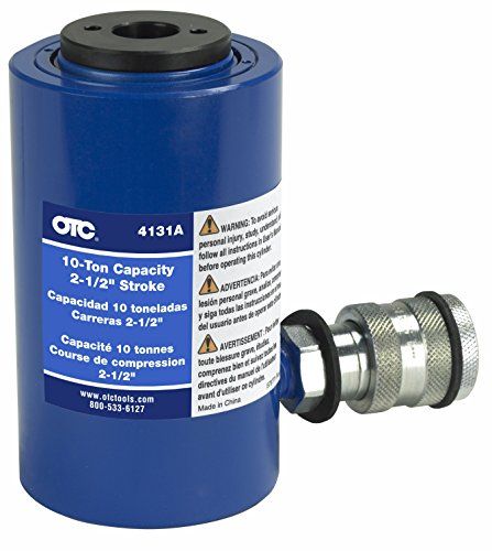 OTC 4131A Single Acting Hydraulic Ram (10-Ton) (Ram Otc Hydraulic)