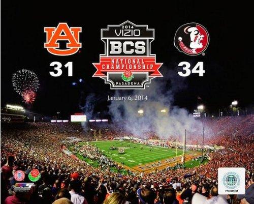Florida State Seminoles 2014 BCS National Championship Photo Size: 11 x 14