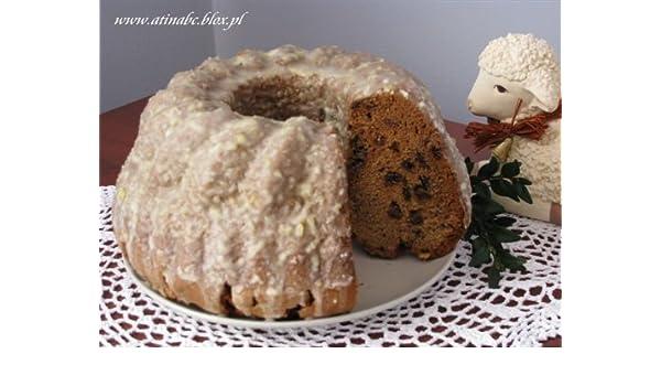 Traditional baba yeast. Polish Cake. Polish Kitchen