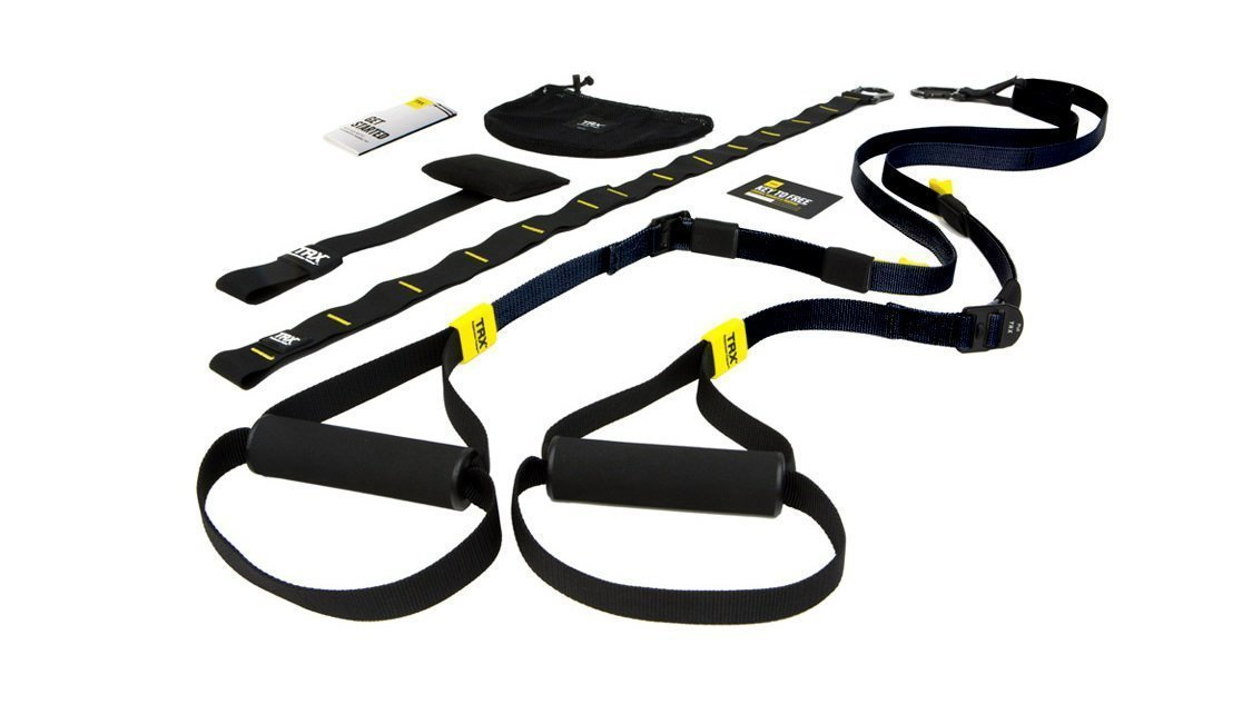 TRX GO Suspension Trainer System: Lightweight & Portable  Full Body Workouts, All Levels & All Goals  Includes Get Started Poster, 2 Workout Guides & Indoor/Outdoor Anchors