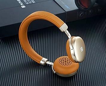 Easylife Auriculares plegables de cancelación de ruido, Bluetooth inalámbrico 4.1 Xtra auriculares bajos de bajo