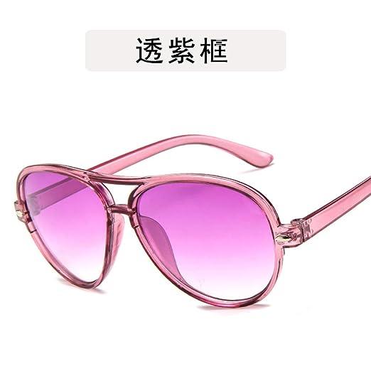 Yangjing-hl Gafas de Sol para niños Salvajes Gafas ...