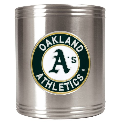 Oakland Athletics - MLB Stainless Steel Can Holder by Great American Products