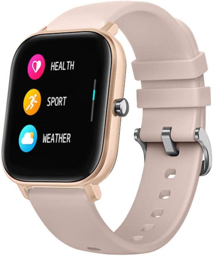 NUNGBE Reloj Inteligente, Monitor de Actividad física con Pantalla táctil de 1,4 Pulgadas para Hombres y Mujeres, Monitor de frecuencia cardíaca, Reloj Inteligente Deportivo a Prueba de Agua IP67