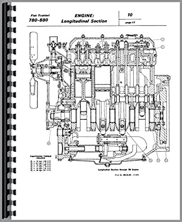 fiat 780 tractor service manual amazon co uk garden outdoors rh amazon co uk Fiat Tractor 1 32 Hesston Fiat Tractor