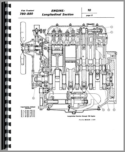 amazon com fiat 780 tractor service manual 0739718042384 fiat books rh amazon com manual tractor fiat 780 pdf Fiat Tractors USA