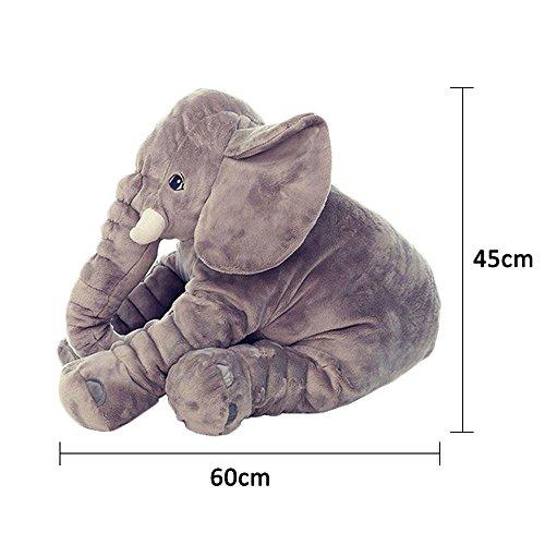 peluche elephant 60 cm
