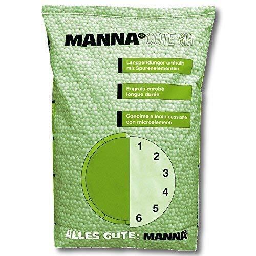 Manna Cote 6M Profesional Fertilizante de Liberación Lenta 25 KG