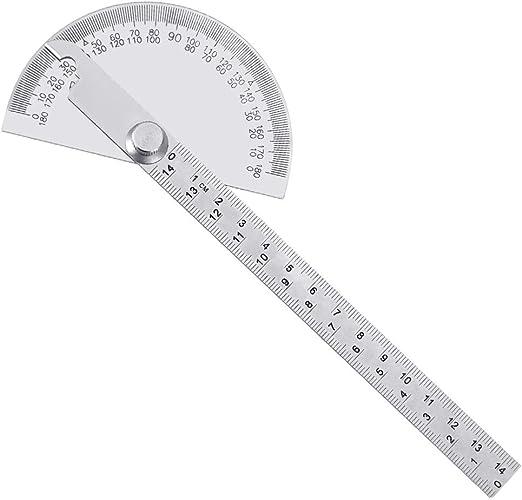 Winkelmesser Lineal Gradbogen Schenkellänge Stellwinkel Winkellineal 180 Grad