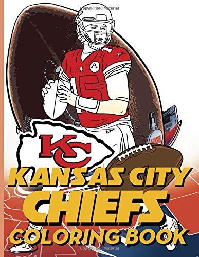 Kansas City Chiefs Coloring Book Excellent Coloring Books For Adult Unique Colouring Pages Webb Kian 9798668125791 Amazon Com Books