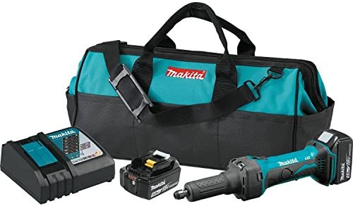 Makita XDG01T 5.0 Amp 18V LXT Lithium-Ion Cordless 1 4 Die Grinder Kit