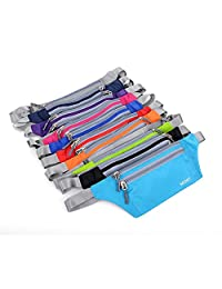 Outdoor Unisex Running Bum Bag Travel Handy Hiking Sport Fanny Pack Waist Belt Zip Pouch