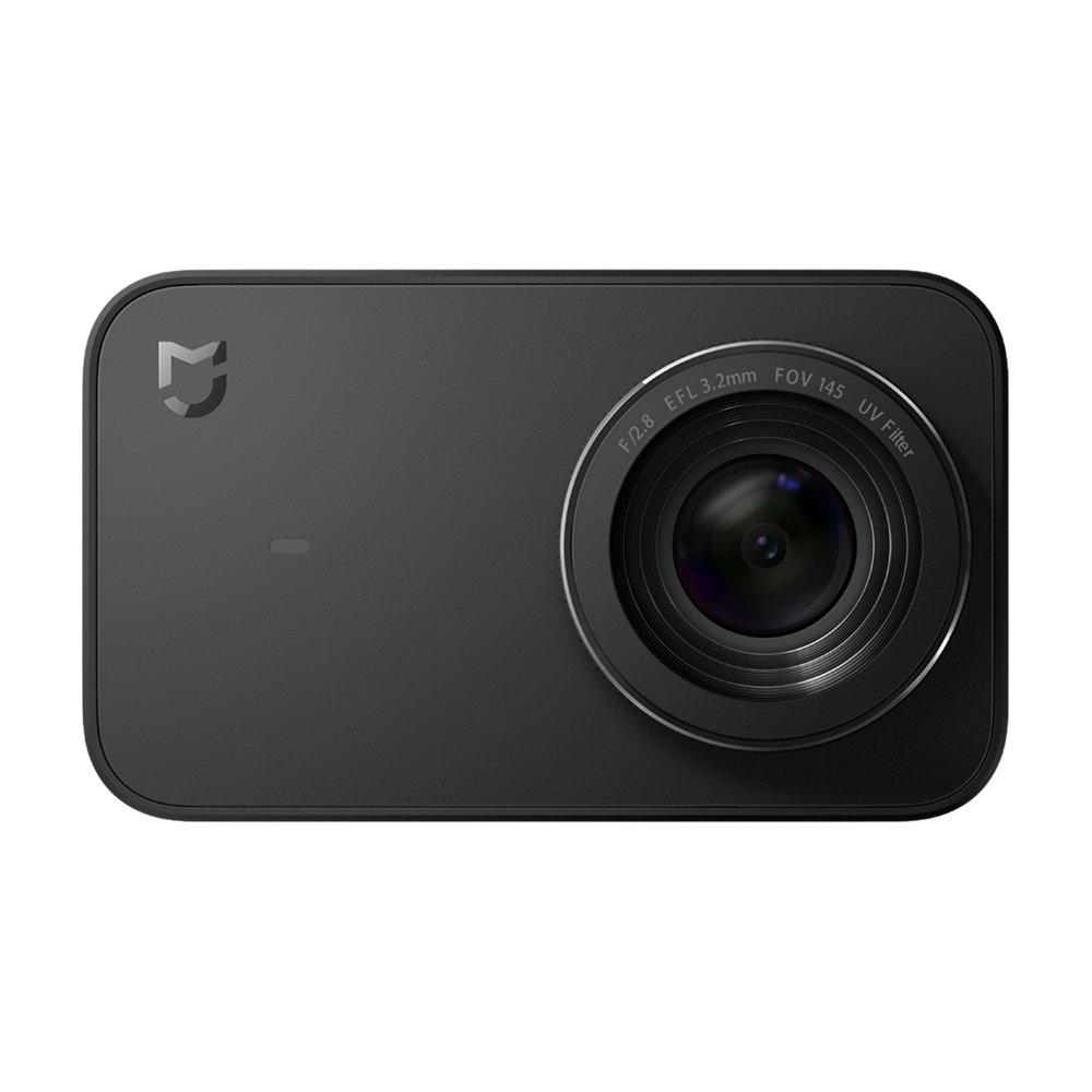 Xiaomi Mi 4K Action Camera, 2.4'' Touchscreen WiFi Sports Camera with Sony Image Sensor, 145° Wide Angle 4K/30fps 1080P/100fps Video Raw Image by Xiaomi