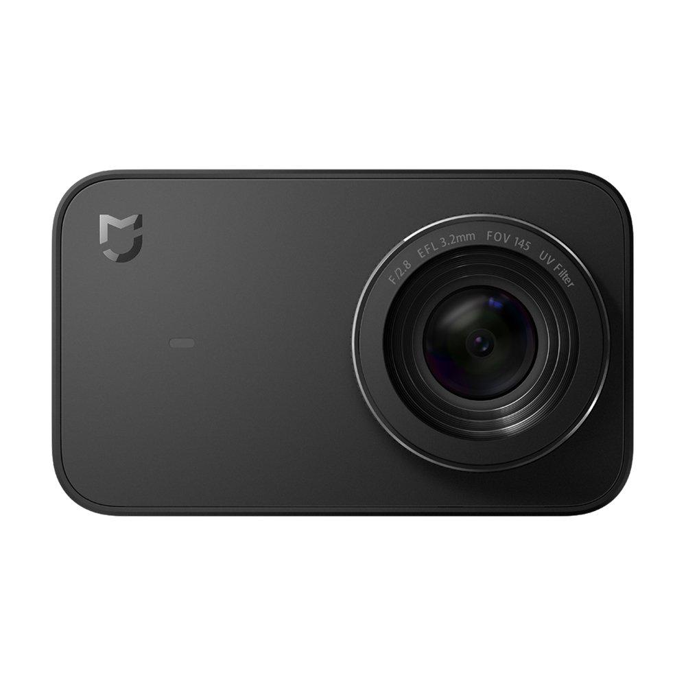 Mi Xiaomi 4K Action Camera, Mi Mijia 2.4'' Touchscreen WiFi IP67 Waterproof Sports Cam with Sony Image Sensor, 145° Wide Angle 4K/30fps 1080P/100fps Video Raw Image