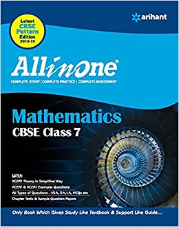 CBSE All In One Mathematics Class 7 for 2018 - 19: Amazon in