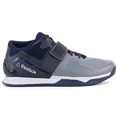 Reebok Heren Crossfit Overgang Lft Corsstrainer Shoe Stervormig Stof / Atm Rood / Coll Nvy / Cld Grijs
