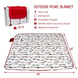 Picnic Blanket Waterproof Foldable, Cute Sandproof