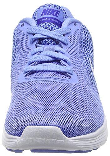 Blu 400 NikeNike Donna White 3 Chalk Scarpe Laufschuhe Running Damen concord Blue Revolution x7qxRZ