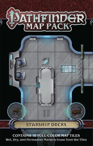 Pathfinder Map Pack: Starship Decks (Gamemastery Flip Map)