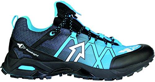 Raidlight - Zapatillas de running de Material Sintético para hombre Noir/ Bleu électrique 42 2/3 EU