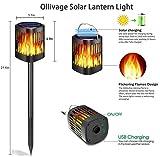 Ollivage Hanging Solar Lights, Dancing Flame