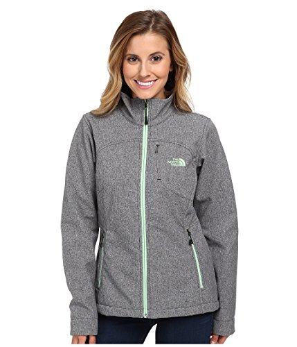 The North Face Women's Apex Bionic Jacket, TNF Black Heather, XL (Denali Jacket Womens)