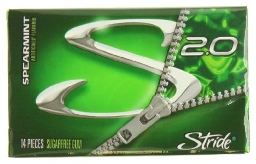 012546680042 - Stride Sugar Free Gum, Spearmint, 14 Count carousel main 0