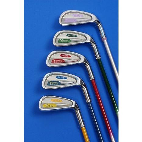 Young Gun Tour - Palos de golf tipo hierro para niños Green ...