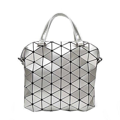 Diagonal épaule Porte Bag Lingge Bag Silver documents CY Main Lady Mode Sac Coréenne à qptw7