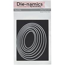 """My Favorite Things Die-Namics STAX Dies #2"""" Oval Set, 1.125 to 4.3-Inch"""