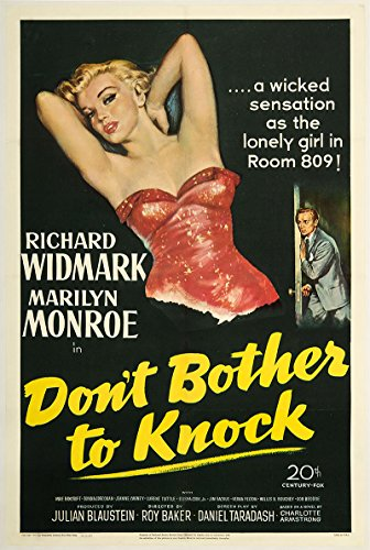 Don't Bother to Knock 1952 Authentic 27